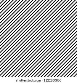 Seamless diagonal line regular pattern vector. Design stripe black on white. Print for wallpaper, textile, background, floor. Set 6