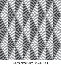 Seamless diamond optical pattern
