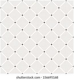 Seamless dots pattern. Polka dot print. Stylish vector texture