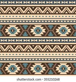 seamless ethnic pattern design