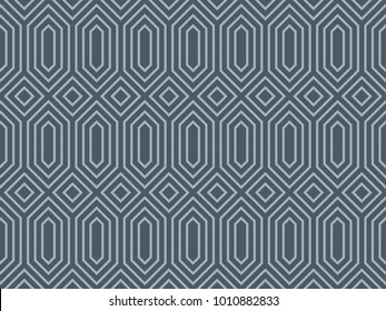 Seamless ethnic pattern vector. Design blue on light blue. Design print for textile, wallpaper, fabric, background.