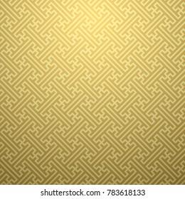 Seamless ethnic sayagata geometric pattern. Vector ornament. Japanese pattern