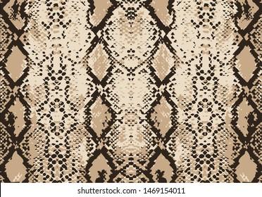 seamless fashion snake pattern vector hand drawn design seamless pattern