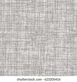 Seamless faux burlap texture background pattern