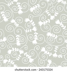 seamless with floral design