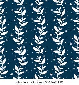 Seamless floral design, floral wallpaper