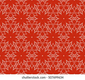 seamless floral geometric patterns. Rose color. Texture for holiday cards, Valentines day, wedding invitations, design wallpaper, pattern fills, web page, banner, flyer. Vector illustration.