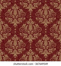 Seamless floral pattern for design, vector Illustration