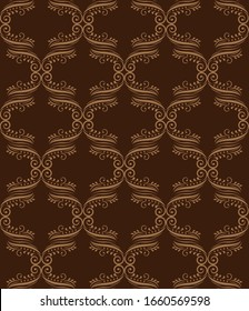Seamless floral  pattern. fabric texture, background floral wallpaper  vector