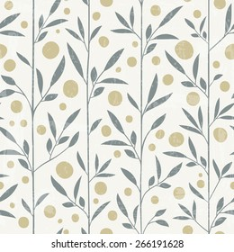 Seamless floral pattern in pastel colours. Can be used as fabric design, wrapping paper, web background