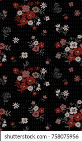 Seamless Floral Pattern. Perfect for Autumn/Winter Collections