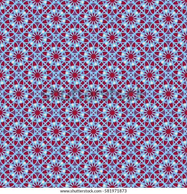 Seamless floral pattern for your design. Vector illustration.