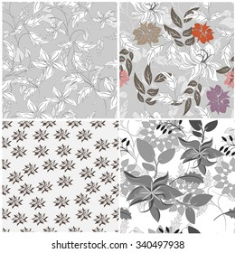 seamless flower background - Illustration Flower, Single Flower, Backgrounds, Floral Pattern, Wallpaper