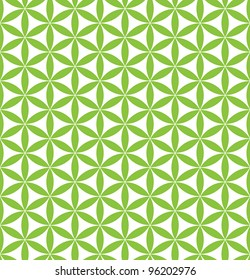 seamless flower of life pattern - sacred geometry background - most magical pattern on the world