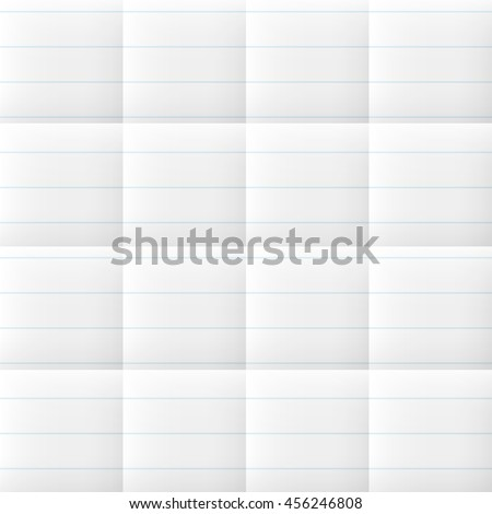 seamless folded note paper line graph stock vector royalty free