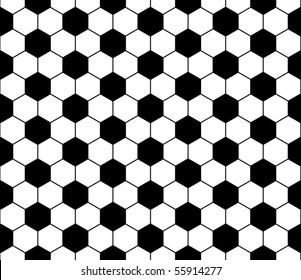 Seamless football pattern. EPS 10 vector file included