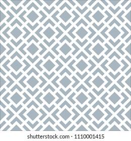 Seamless geometric Art Deco block pattern background
