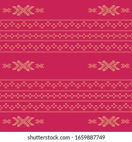 Seamless geometric background motif ulos batak. seamless traditional textile bandhani sari border. creative seamless indiant bandhani textures border design