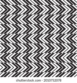 Seamless geometric chevron herringbone pattern texture background.