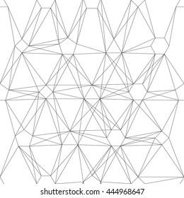 Seamless Geometric and line Pattern.