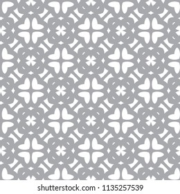 Seamless geometric ornamental vector pattern