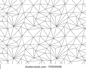 Seamless geometric pattern. Abstract poly art background. Repeat background for textile, cover and web design.