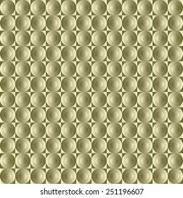 Seamless geometric pattern   with buttons