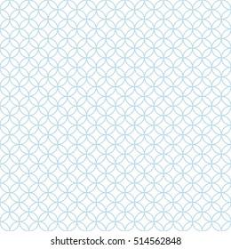 Seamless geometric pattern of circles.