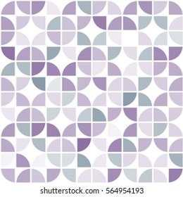 Seamless geometric pattern of circles on a white background.