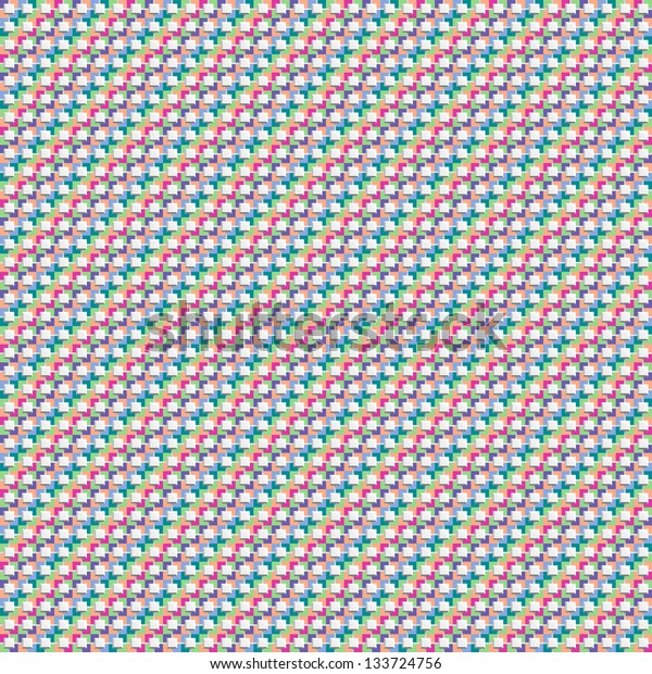 Seamless geometric pattern of colored diagonals. Abstract background for design