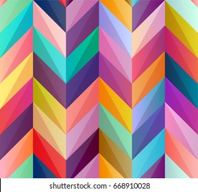 Seamless geometric pattern of colored lines