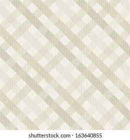 Seamless geometric pattern. Diagonal checkered texture. Vector print of textured paper