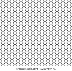 Seamless geometric pattern of hexagonal cell texture