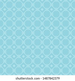 Seamless geometric pattern with modern ornament. Vector illustration.