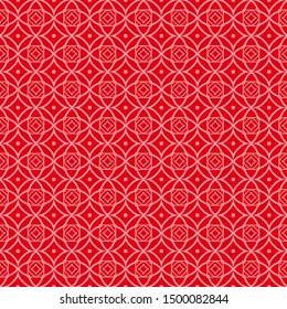 Seamless geometric pattern with modern ornamnet. Vector illustration.