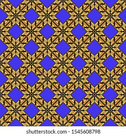 Seamless geometric pattern with modern ornamnet. Vector illustration. Paper for scrapbooking