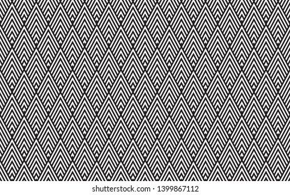 seamless geometric pattern. modern triangle black and white background, abstract, vector background, illustration