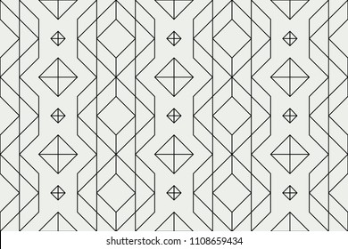 Seamless geometric pattern, straight line pattern, geo background, hatch graphic texture, abstract ornament, retro stylish fabric, textile, design