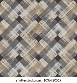 Seamless geometric pattern. Texture of multi-colored squares. Scribble texture. Textile rapport.