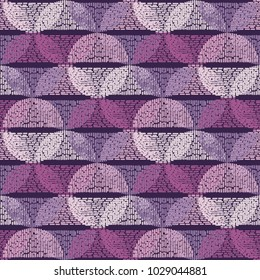 Seamless geometric pattern. The texture of the semicircle. Drops texture. Textile rapport.