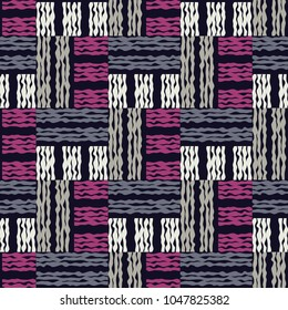 Seamless geometric pattern. Texture of swirling stripes. Lace. Scribble texture. Textile rapport.