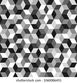 Seamless Geometric Pattern. Vector Background For Web, Print, Wallpaper And Other Design.