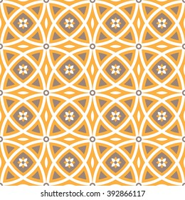 Seamless geometric pattern. Vector.Surface pattern with geometric ornament. Decorative repeat background pattern.