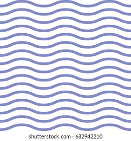 Seamless geometric pattern with wavy lines. Graphic design. Vector background.