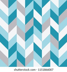 Seamless geometric pattern with zigzag background.