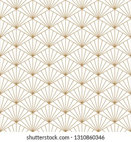 Seamless geometric pattern.Woodwork style kumiko.For shoji screen.Great design for any purposes. Japanese pattern background vector. Japanese traditional wall.Fine lines.