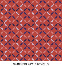 seamless geometric print inspired from phulkari