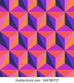 seamless geometric retro pattern