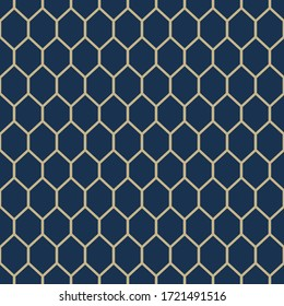 Seamless geometric stylish texture. Classic Art Deco seamless pattern. Abstract retro vector texture. Vintage Islamic wallpaper. Simple lattice graphic design. Vector modern tiles pattern