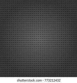 Seamless geometric vector pattern in gray, black and white colors. Oriental style.